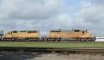 UP 3105 and 9890  